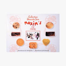 Collection of fine biscuits - 36 assorted biscuits Maxim's