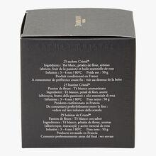 Passion des Fleurs flavoured white tea - Box of 25 teabags Dammann Frères
