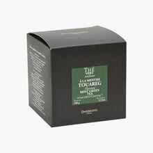 Thé vert parfumé à la menthe Touareg - Boîte de 50 sachets Dammann Frères