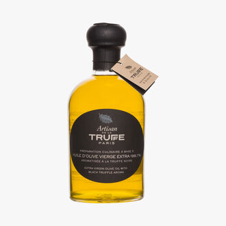 Extra virgin olive oil with black truffle flavour Artisan de la truffe