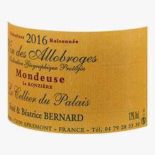 Domaine Le Cellier du Palais, Mondeuse rouge, 2016 Le Cellier du Palais