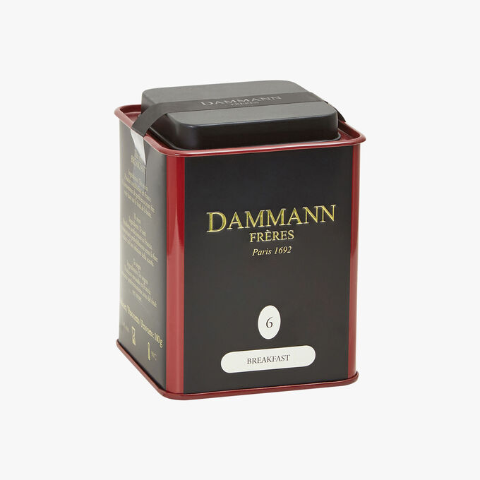 Black breakfast tea N° 6 Dammann Frères
