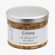 Cassoulet from Landes with duck confit Castaing