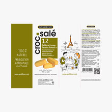 12 sablés au fromage Pecorino Romano AOP Goulibeur