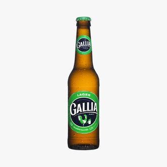 Bière blonde maltée Lager Gallia Paris