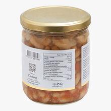 Les haricots cuisinés à la graisse de canard Castaing