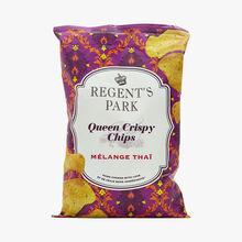 Chips de pommes de terre aux épices et au citron vert Regent's Park