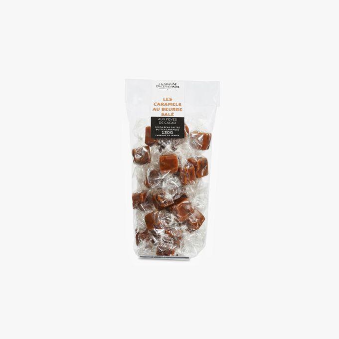 Sachet de caramels au beurre demi-sel et aux fèves de cacao La Grande Épicerie de Paris