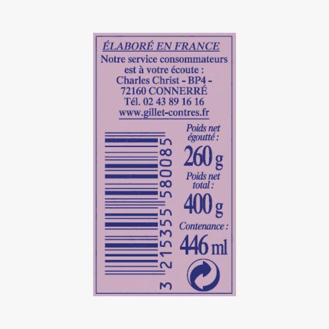 Petits Pois extra fins et mini Carottes dites Parisiennes Gillet Contres