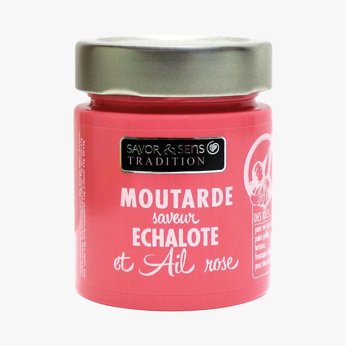 Shallot and pink garlic mustard Savor & Sens