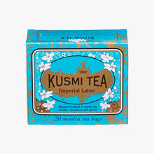 Imperial Label, box of 20 teabags  Kusmi Tea