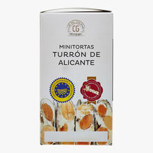 8 mini Touron wafers from Alicante El Corte Inglés - Club del Gourmet