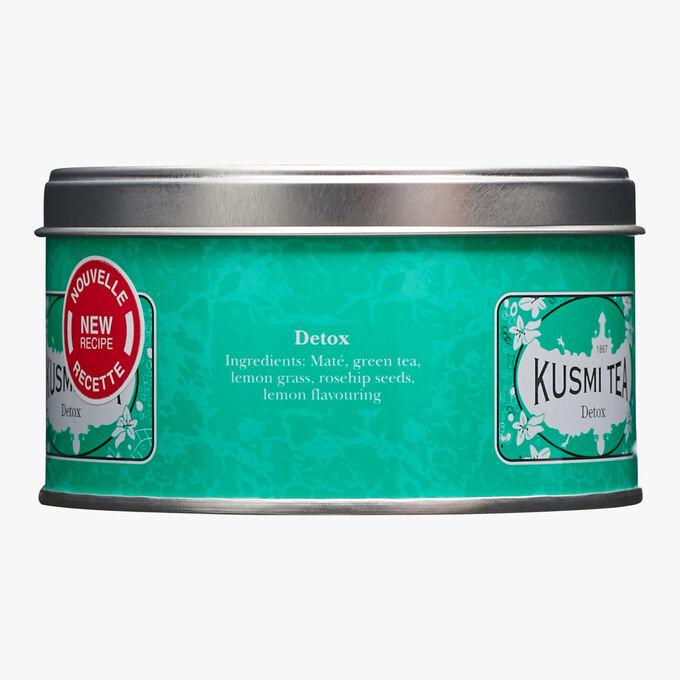 Detox metal tin Kusmi Tea
