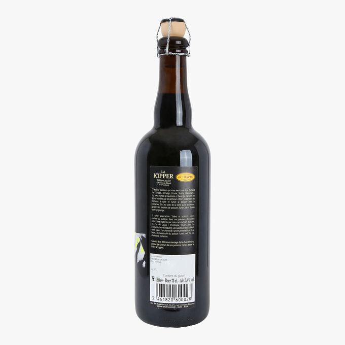La Kipper black beer Christophe Noyon