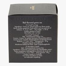 Bali perfumed green tea - Box of 25 teabags Dammann Frères