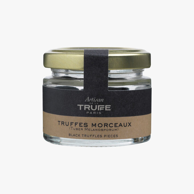 Black truffle pieces Artisan de la truffe