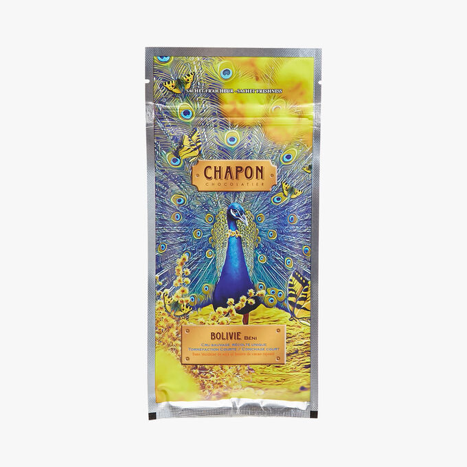 Bolivia dark chocolate bar with a minimum of 74 % cocoa Chapon