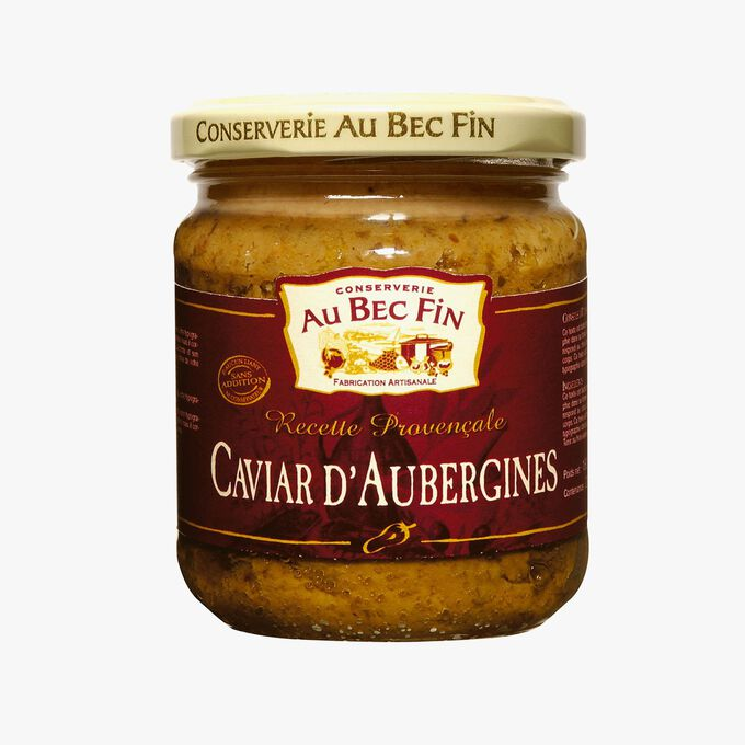 Caviar d'aubergines Au Bec Fin