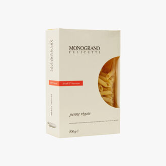 Penne rigata Pasta - kamut khorasan Monograno Felicetti