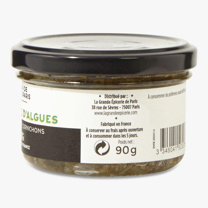 Tartare d'algues, câpres et cornichons La Grande Épicerie de Paris
