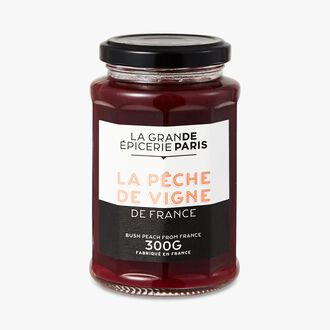 French vineyard peach fruit spread La Grande Épicerie de Paris