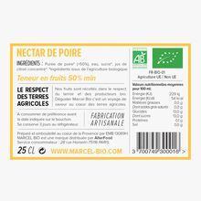 Organic pear nectar Marcel Bio