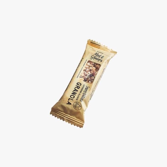 Organic Honey & Seed Granola Bar SuperNature Catherine Kluger