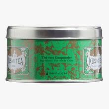 Gunpowder Green Tea, metal tin Kusmi Tea