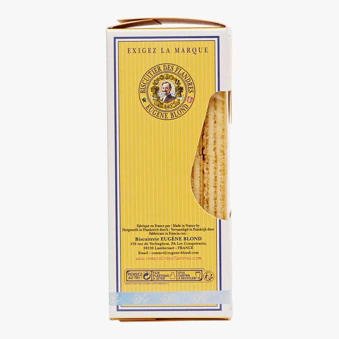 Double-filled vanilla wafers Biscuiterie Eugène Blond