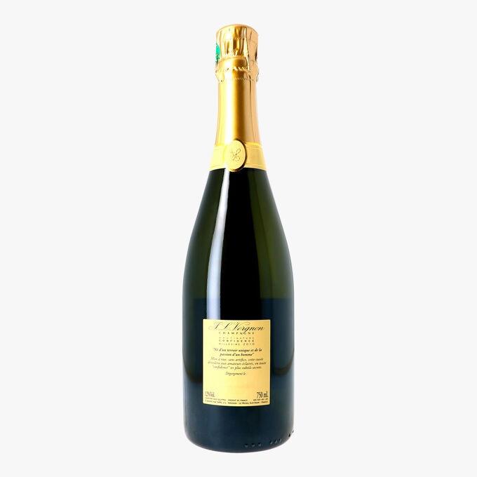 Champagne Confidence 2010 Brut nature Blanc de Blancs Champagne J.L. Vergnon
