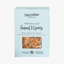 Granola salé fenouil & épices SuperNature Catherine Kluger