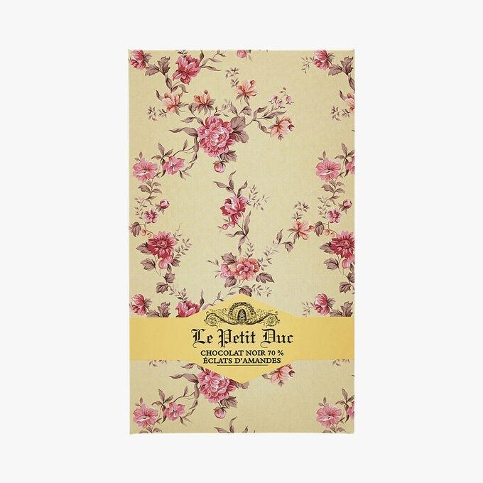 Chocolat noir 70 % Éclats d'amandes Le Petit Duc
