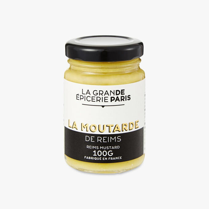 Reims mustard with white wine and wine vinegar La Grande Épicerie de Paris
