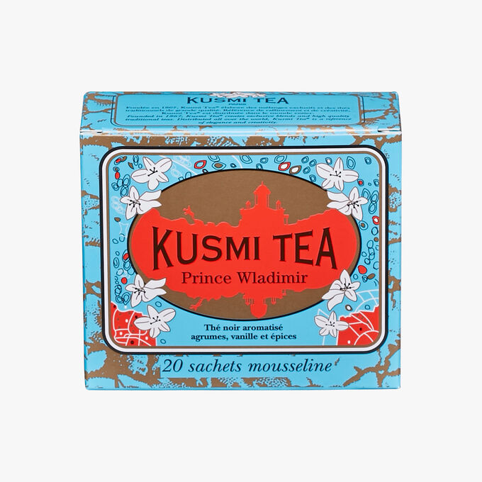 Prince Vladimir, box of 20 teabags  Kusmi Tea