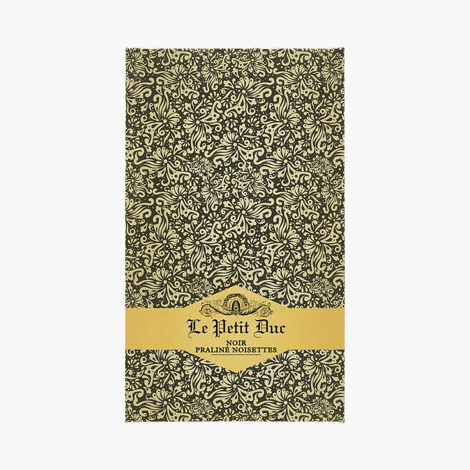 Chocolat noir praliné noisettes Le Petit Duc