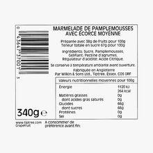 Marmelade de pamplemousse, avec écorce moyenne Wilkin & Sons
