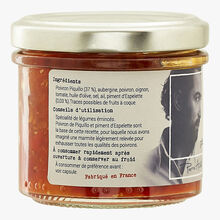 Piquillo pepper and Espelette chili Rue Traversette