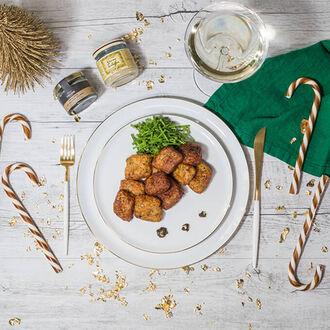 Pommes dauphines à la truffe Recette proposée par La Grande Épicerie de Paris