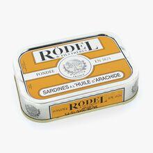 Sardines à l'huile d'arachide Rödel