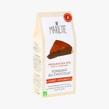 Préparation bio, fondant au chocolat Marlette