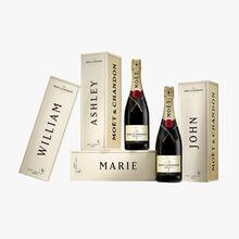 Champagne Moët & Chandon Impérial Brut – Coffret Une attention personnalisée Moët & Chandon