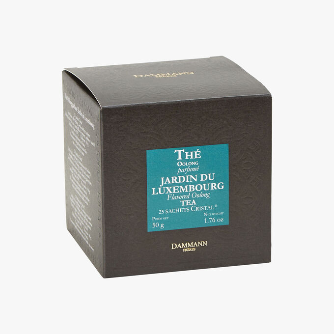 Thé Oolong parfumé Jardin du Luxembourg - Boîte de 25 sachets Dammann Frères
