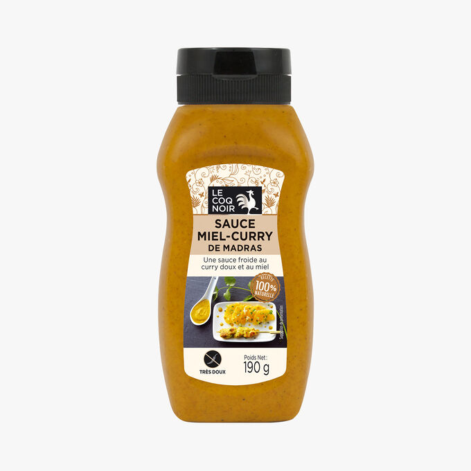 Madras curry sauce with honey Le Coq Noir