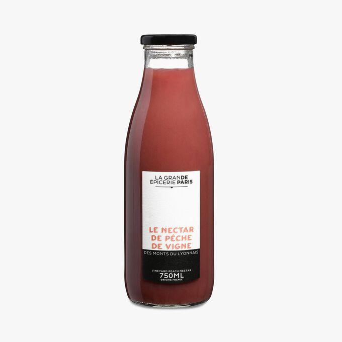 Monts du Lyonnais vineyard peach nectar La Grande Epicerie de Paris