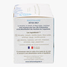 Infusion #détox only - 20 sachets La Tisane du Guide