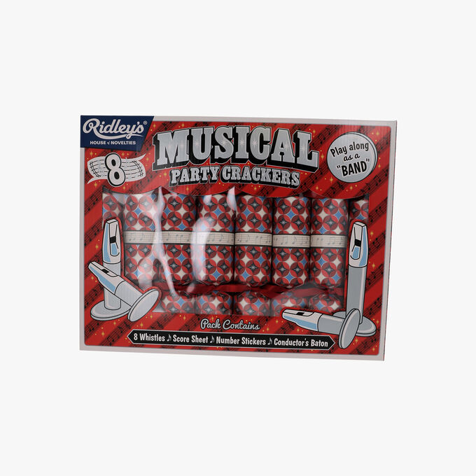 Musical party crackers   Ridley's
