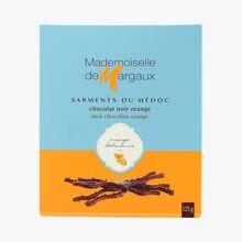 Brins de chocolat noir à l'arôme naturel d'orange  Mademoiselle de Margaux