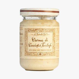Artichoke cream sauce with white truffle (Tuber magnatum pico) 1 % La Favorita