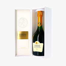 Champagne Taittinger, Comtes de Champagne Blanc de Blancs, 2007, coffret Taittinger
