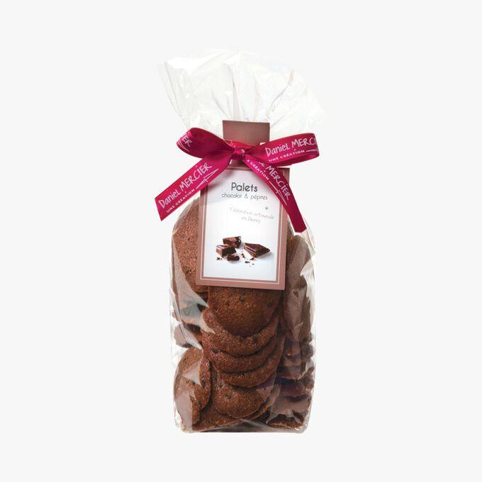 Chocolate chip shortbread Daniel Mercier